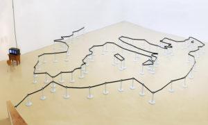 Delimitations. Exposición de la Instalación de Mateo Maté 2012