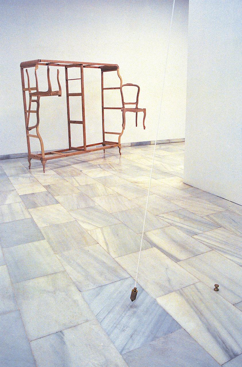Plomada Mateo Maté Exposición Sala de recursos culturales de la Comunidad Autónoma de Madrid 1992